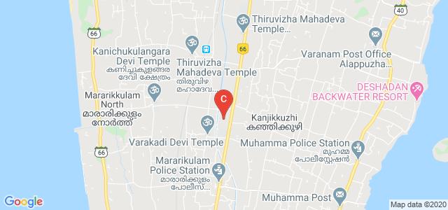 Sree Narayana College for Applied Sciences,Cherthala, Kanjikuzhy, S.L.Puram, Mararikulam, Kerala, India