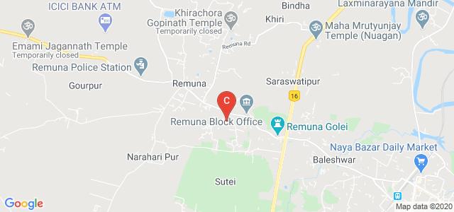 Remuna Degree & Junior Collage, Remuna, Balasore, Januganj Road, Kalidaspur, Balia, Remuna, Odisha, India