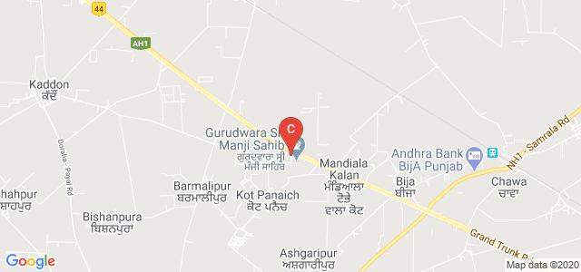 Mata Ganga Khalsa College for Girls, Ludhiana, Punjab, India