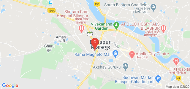 Govt. Jamuna Prasad Verma P.G. Arts and Commerce College, Bilaspur, Raipur - Bilaspur Expressway, Jarahabhata, Bilaspur, Chhattisgarh, India