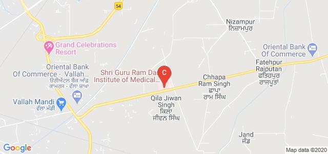 Sri Guru Ram Das Institute of Medical Sciences & Research, Amritsar, Punjab, India