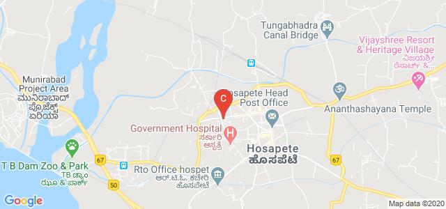 Vijayanagara college, Bellary - Hubli Road, Basaveshwara Extension, Hospet, Karnataka, India