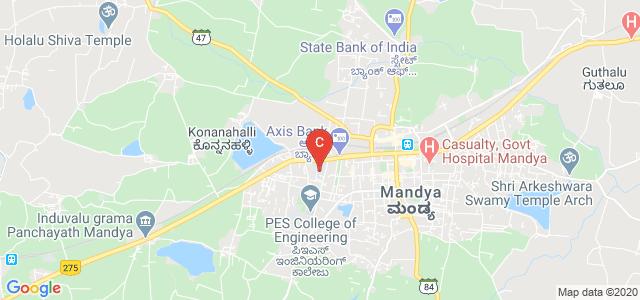 Government College Mandya, PES College Campus, Mandya, Karnataka, India