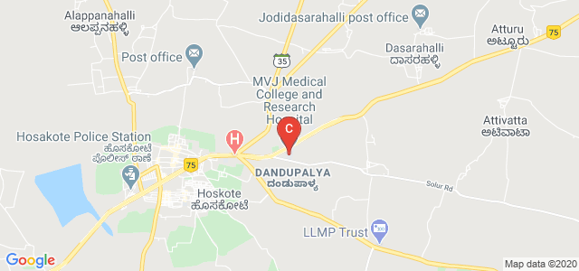 MVJ Medical College and Research Hospital, Dandupalya, Hoskote, Karnataka, India