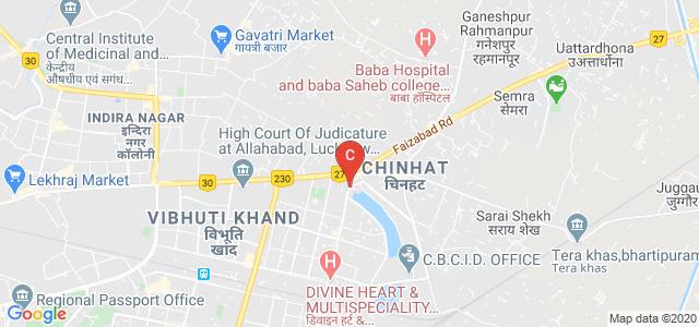 Gomti Nagar, Viraj Khand Road, Vikalp Khand, Lucknow, Uttar Pradesh 226010, India