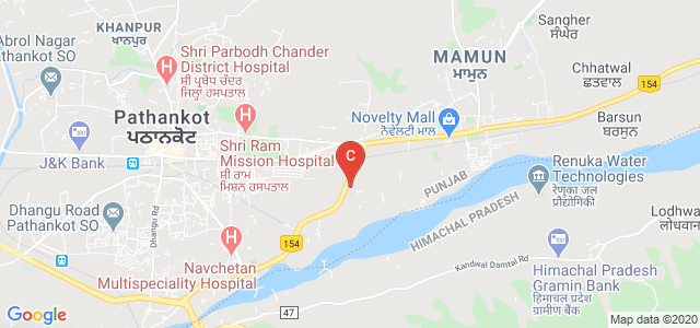A B College, Jalandhar - Dalhousie Bypass, Mamun, Pathankot, Punjab, India