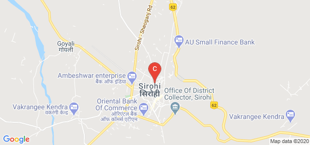 Palace Rd, Krishnapuri, Vedhaynath Colony, Sirohi, Rajasthan, India