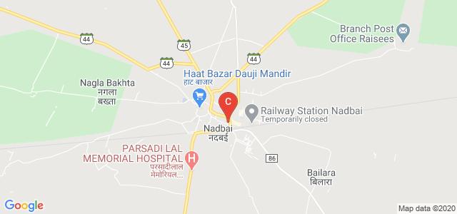 Nadbai, Bharatpur, Rajasthan 321602, India