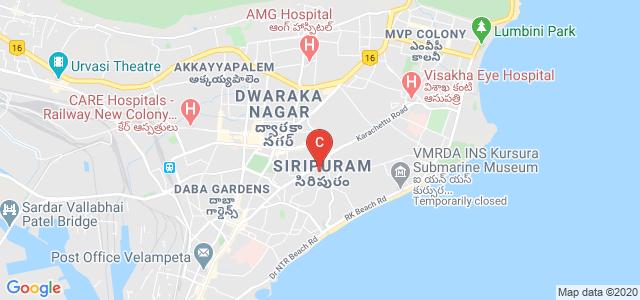 Andhra University College Of Engineering For Women, Junction, Near Sivaji Park, Shivaji Palem, Maddilapalem, Visakhapatnam, Andhra Pradesh, India