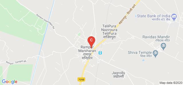 Gochar Mahavidyalaya, Rampur Maniharan, Saharanpur, Uttar Pradesh, India