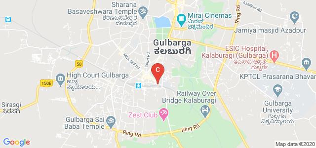 Smt. Veeramma Gangasiri College for Women Gulbarga, Road, Aiwan-E-Shahi Area, Shambhognlli, Kalaburagi, Karnataka, India