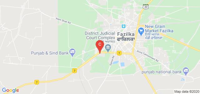 M.R. Govt. College Fazilka, Mahavir Colony, Fazilka, Punjab, India