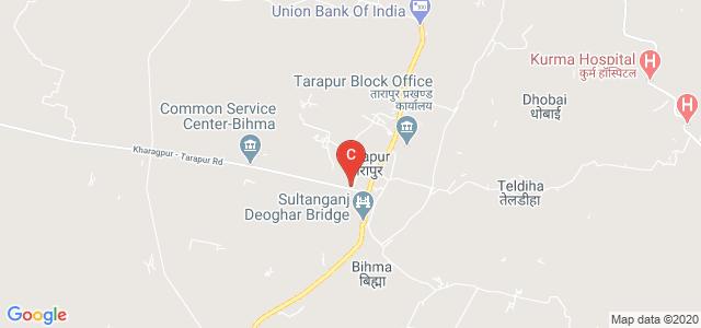 R.S.College, Kharagpur - Tarapur Road, Tarapur, Bihar, India