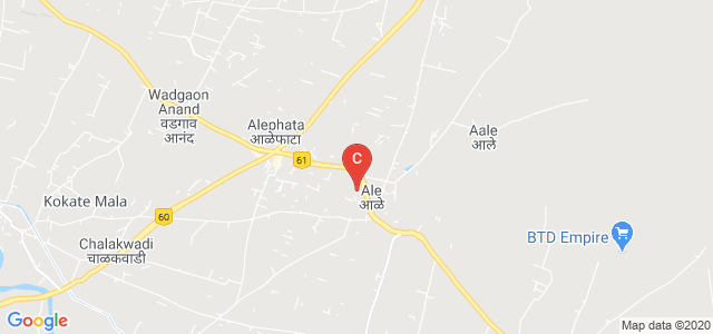 Balasaheb Jadhav College Of Arts,Commerce,Science and BCA., National Highway 222, Ale, Maharashtra, India