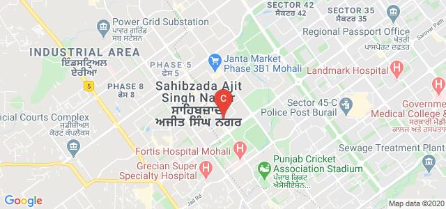 Punjabi University Regional Centre for Information Technology and Management, Mohali Stadium Road, Phase 7, Sector 61, Mohali, Punjab, India
