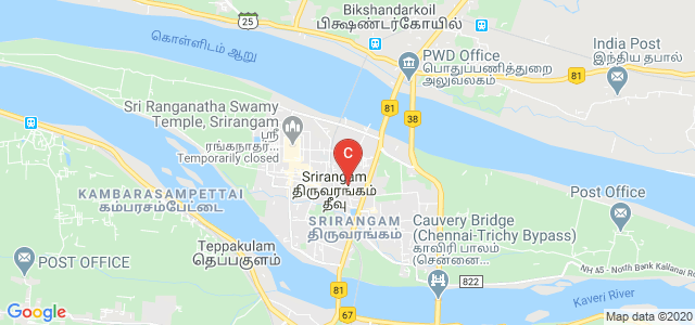 SRIMAD ANDAVAN ARTS AND SCIENCE COLLEGE, Nelson Road, Thiruvanaikoil, Srirangam, Tiruchirappalli, Tamil Nadu, India
