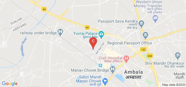 S.A. Jain College, Jain College, Ambala, Haryana, India