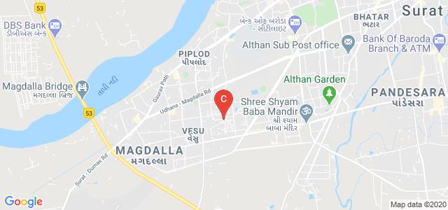 SDJ International College, Someshwara Enclave, Vesu, Surat, Gujarat, India