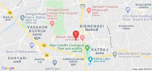 Bharti Vidyapeeth College Of Architecture, Chandrabhaga Nagar Road, Akshay Nagar, Dhankawadi, Pune, Maharashtra, India