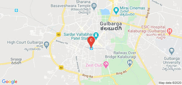 Gulbarga, Gulbarga Station FOB, Ghouse Nagar, Kalaburagi, Karnataka 585102, India