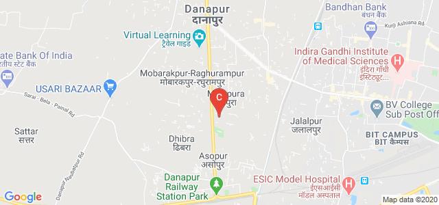 Tapindu Institute Of Higher Studies, Cantt Road, Saguna More, Khagaul, Patna, Bihar, India
