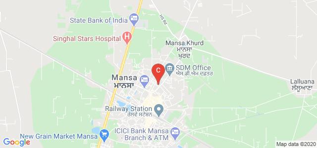 Mata Sundri University Girls College, New Court Road, Guru Arjun Dev Nagar, Mansa, Punjab, India