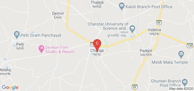 Ramanbhai Patel College of Pharmacy, CHARUSAT Campus, Changa, Gujarat, India