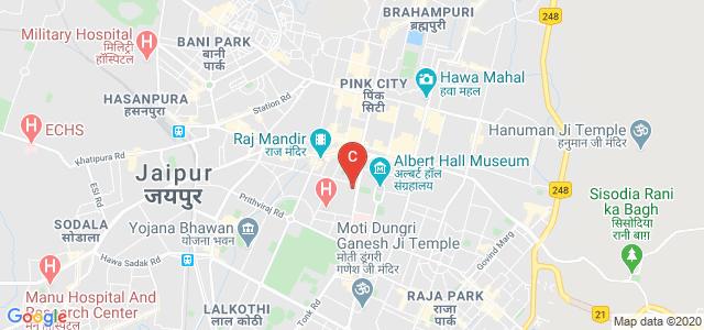 University Maharani's College, Ram Singh Road, Panch Batti, Sangram Colony, Ashok Nagar, Jaipur, Rajasthan, India