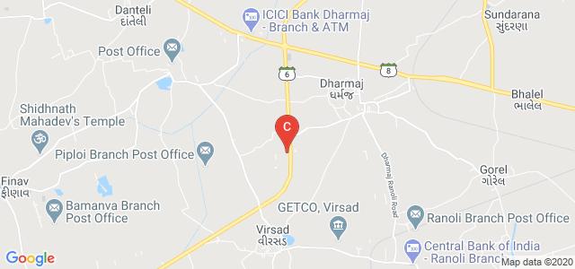 Indubhai Patel College of Pharmacy and Research Centre, Dharmaj, Dharmaj, Gujarat, India