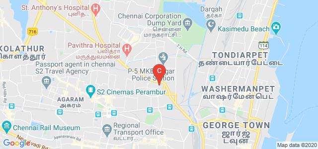 Dr Ambedkar Government Arts College, Nagammai Nagar, Vaysarpadi, Chennai, Tamil Nadu, India