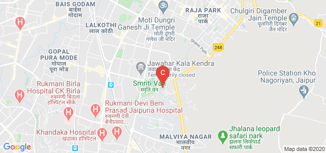 Indian Institute Of Crafts & Design, Jhalana Institutional Area, Jhalana Doongri, Jaipur, Rajasthan, India