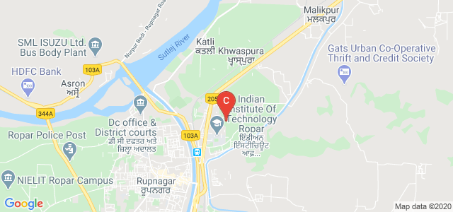 Indian institute of Technology Ropar, Bara Phool, Punjab, India