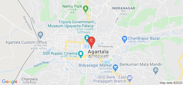 BK Road, Banamalipur, Agartala, Tripura, Indiaar, Agartala, Tripura, India