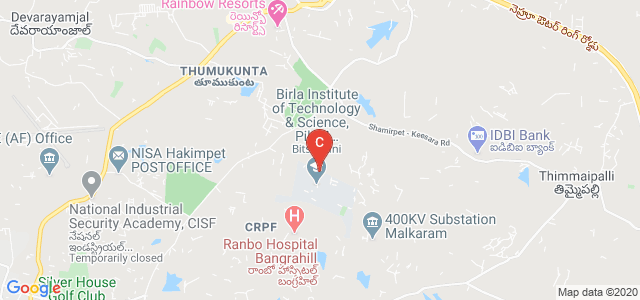 BITS PILANI, Secunderabad, Telangana, India