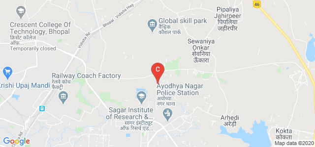Sagar Institute of Research & Technology(SIRT), Ayodhya Bypass Road, Opposite, K-Sector, Minal Residency, Bhopal, Madhya Pradesh, India