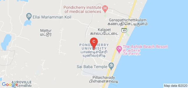 Pondicherry University, Kalapet, Puducherry, India