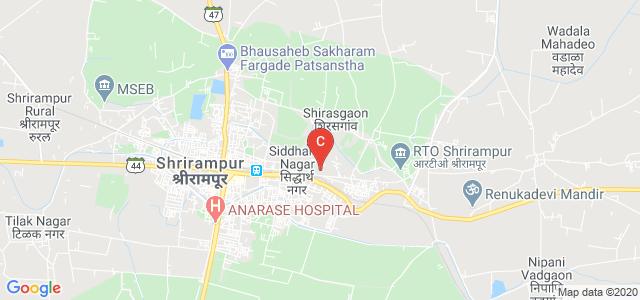 R. B. NARAYANRAO BORAWAKE COLLEGE,Chemistry Department, Shrirampur, Maharashtra, India