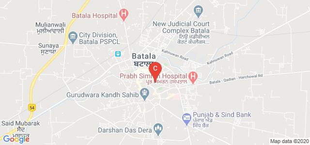 S.L. Bawa D.A.V. College, Khazuri Gate, Batala, Punjab, India