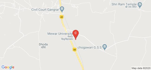 Mewar University, NH - 79, Gangarar, Rajasthan, India