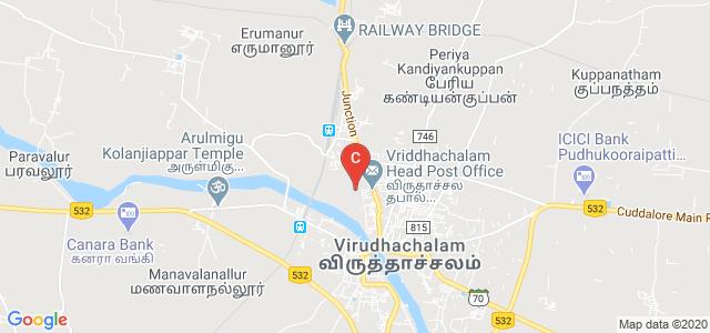 Thiru Kolanjiappar Government Arts College, State Highway 69, Virudhachalam, Cuddalore, Tamil Nadu, India