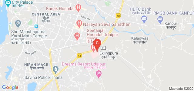 Geetanjali Dental And Research Institute, Manva Kheda, Eklingpura, Udaipur, Rajasthan, India