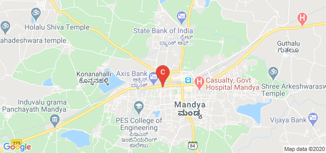 PES College of Science,Arts And Commerce, M.C. Road, Subash Nagar, Mandya, Karnataka, India
