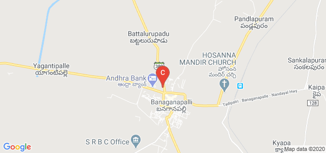 Government Degree College, Banaganapalli, Andhra Pradesh, India