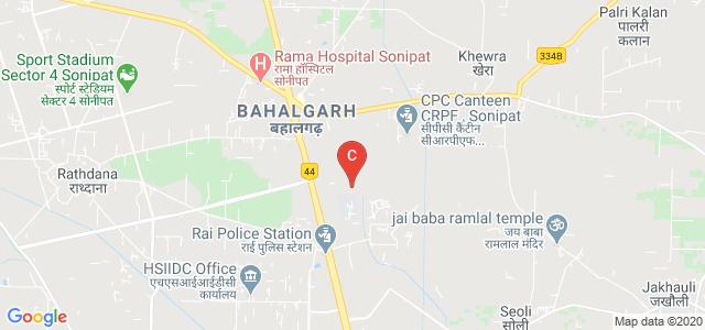 World University Of Design, Rajiv Gandhi Education City, Sonipat, Haryana, India