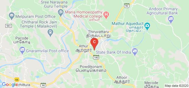 Attoor - Mathar Road, Thiruvattar, Kanyakumari, Tamil Nadu, India