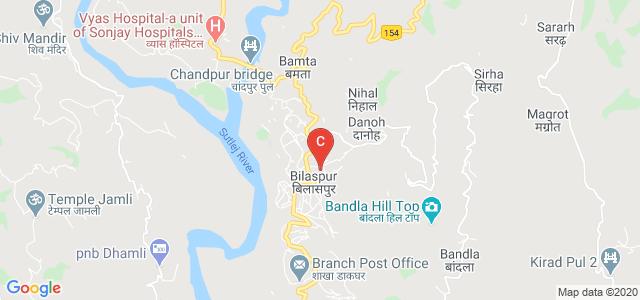 Government Post Graduate College, Bilaspur, Kosrian Sector, Bilaspur, Himachal Pradesh, India
