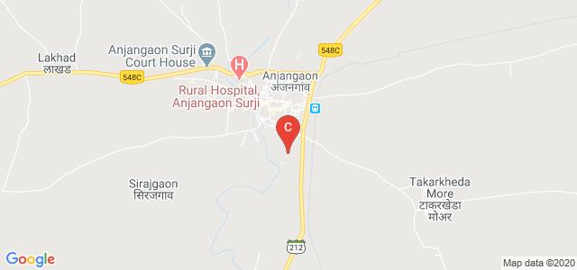 Radhabai Sarda college, Maharashtra State Highway 212, Anjangaon Surji, Anjangaon, Maharashtra, India