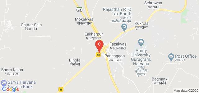 Starex university, Service Road, Gurugram, Haryana, India