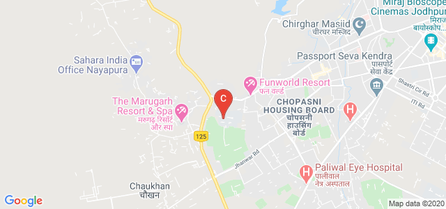 Chopasani TT College, Gopal Bari, Jodhpur, Rajasthan, India