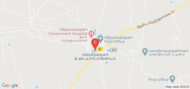 Udayarpalayam, Ariyalur, Tamil Nadu 621804, India